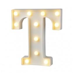 Dekoratif Led Işıklı T Harfi