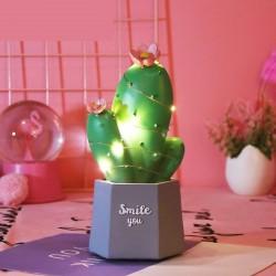 Işıklı Kaktüs Biblo Smile