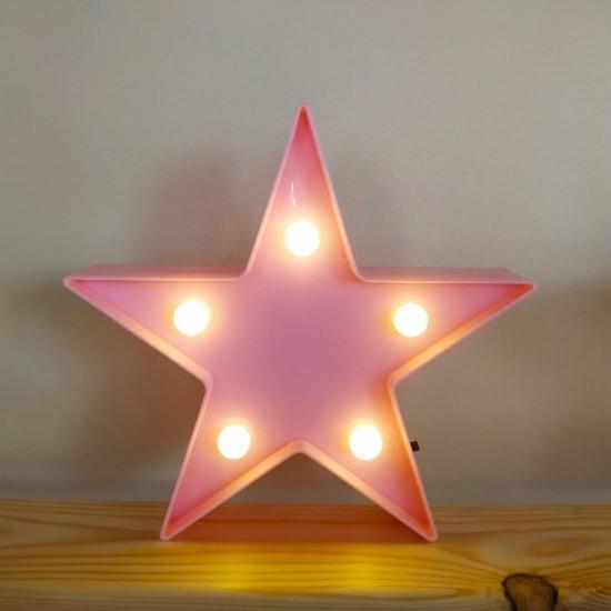 Led Işıklı Küçük Star Yıldız Lamba