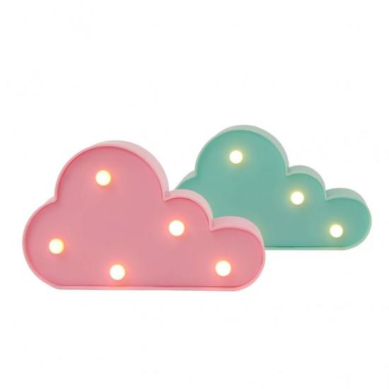 Dekoratif Işıklı Minik Bulut Lambalar