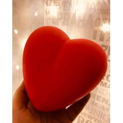 Dekoratif Led Işıklı Kalp Lamba