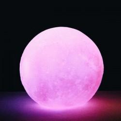 Pembe Moonlight Dolunay Gece Lambası 12 cm