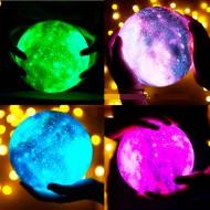 Renk Değiştiren Galaksi Dolunay Moonlight Lamba