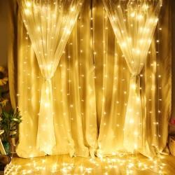 Perde Led Işıklar Animasyonlu 2x2 metre