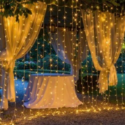 Perde Led Işıklar Animasyonlu 3x3 metre
