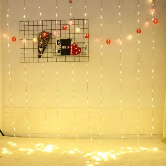 Yağmur Akar Perde Led Işıklar 3X3 metre