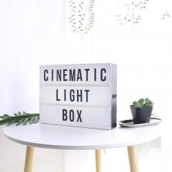 Lightbox Işıklı Pano A4 Büyük Boy
