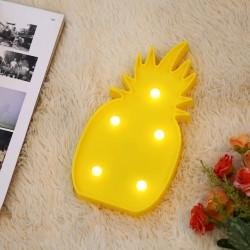 Ananas Led Işıklı Masa Duvar Gece Lambası