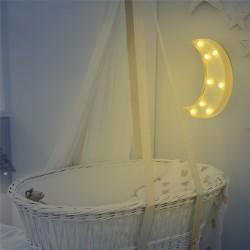 Ay Led Işıklı Masa Duvar Gece Lambası