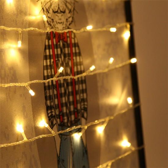 Dekoratif Led Işık Dizeleri 10 metre-fişli-mandal hediyeli
