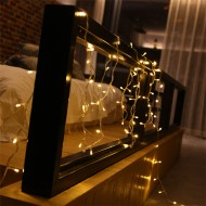 Dekoratif Led Işık Dizeleri 2 metre-mandal hediyeli