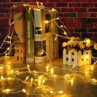 Dekoratif Led Işık Dizeleri 3 metre-mandal hediyeli