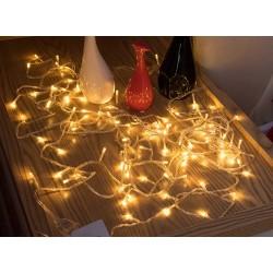 Dekoratif Led Işık Dizeleri 5 metre - Fişli - mandal hediyeli