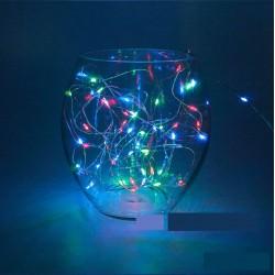 Rgb Led Işıklı Çok Renkli Peri Tel