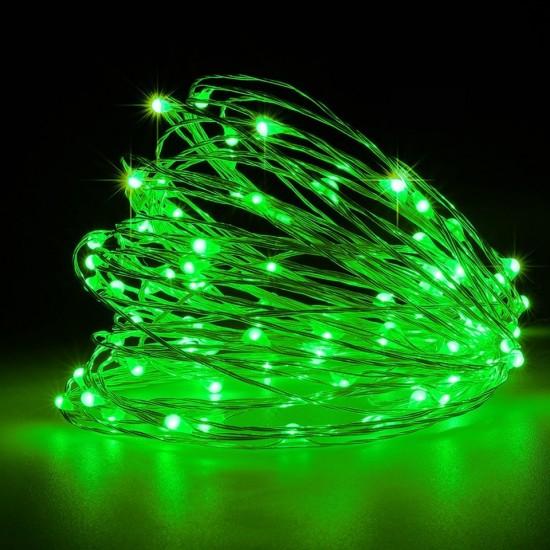 Yeşil Led Işıklı Peri Tel