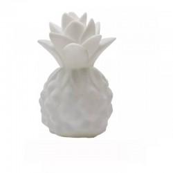 Silikon Led Işıklı Ananas Lamba Beyaz