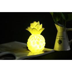 Silikon Led Işıklı Ananas Lamba Sarı